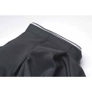 Table Skirting Box Pleat Black Polyester 29 h X 13 l