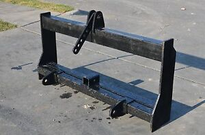 Bobcat Skid Steer Attachment 3 Point Hitch Tractor Adapter Mount Ship 149