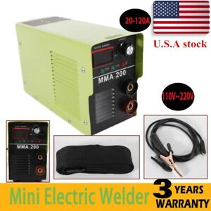 20 120a Welding Machine Mma Portable Welder Dc Igbt Soldering Inverter Tool