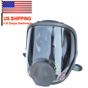 Full Face Large Size Dust Facepiece Respirator Painting Spraying 6800 Gas Mask