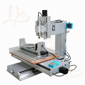 Ly Cnc 6040 Vertical Wood Router 5 Axis 1500w Spindle Metal Milling Machine