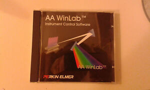 Perkin Elmer Aa Winlab 2 61 Atomic Absorption Instrument Controll Software Cd