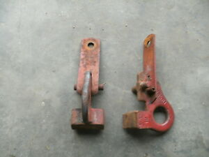 Farmall Super C Cub 140 100 Fast Hitch Loop Style Latch