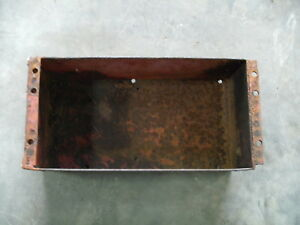 Ih Farmall Super A B 130 140 100 Under Seat Tool Box
