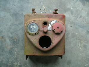 Ih Farmall Super C 200 230 Instrument Panel Cluster Guage