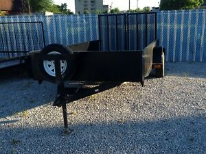 Used 6 X 14 Beaver Creek Landscape Utility 4 Wheeler Trailer