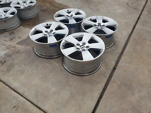 18 Inch Mustang Rims In Good Condition 4 Rims 4caps And Tpms Up