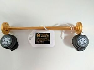 Sage Swb 12090 t1 4 6 Wr 12 Waveguide Twist E Band 60 Ghz 90 Ghz 90 Degree