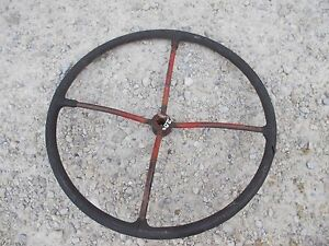 Farmall Ih 100 200 230 Tractor Large Ihc Steering Wheel 4 Spoke