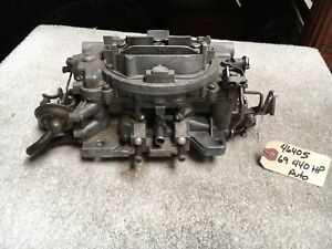 C9 4640sa Carter Avs 440hp Auto March 1969 Carb Carburetor Charger Roadrunner