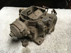 1955 1956 Chrysler Imperial Newyorker 331 354 Hemi Carter Wcfb Carburetor Carb