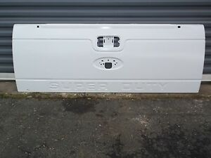 Tailgate Super Duty Primed White F250 F350 Tailgate Reuses Your Mechanical Trim