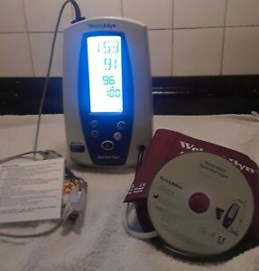 Welch Allyn Spot Vital Signs 42n0b Loaner Monitor Patient Ready Dvd Instrruction