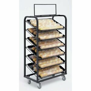 Bakery Display Fixture For Trays black Metal 26 L X 18 D X 49 H