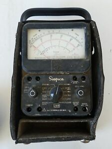 Vintage Simpson Model 260 Series Volt Ohm Meter