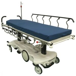 Stryker Pacu Advantage Stretcher 1501 Big Wheel Hydraulic Out patient Gurney