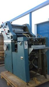 Davidson 702 P Offset Printing Machine