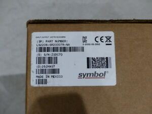 Zebra Ls2208 sr20007r na Barcode Scanner Usb Cable Stand
