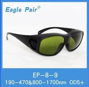 190 470nm 800 1700nm 1064nm Yag Laser Safety Glasses Protective Goggles Ce
