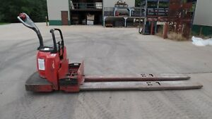 Raymond 8 000 Lb Electric Pallet Jack 8400 No Battery Eight Foot Forks 2006