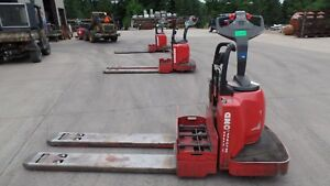 Raymond 8000 Lb Electric Pallet Jack 8400 No Battery Five Foot Forks 2010