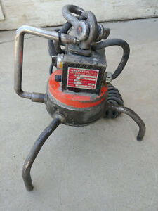 Electromagnetic Lift 1000 Lb Capacity Lifting Magnet Removable Leg Adp magnetic