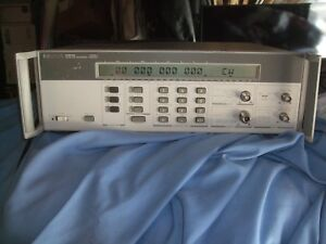 Agilent Hp 5361b Microwave Pulse Cw Counter 20 Ghz Hewlett Parckard