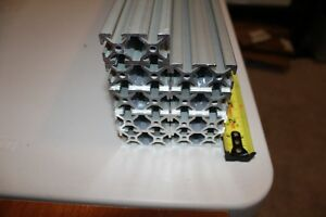 9 Pcs 8020 Inc 40x80mm T slot Extrusion 1000mm Length 40 Series Aluminum