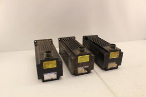Emerson Dxm 480 Servo Motor lot Of 3 See Notes