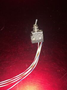 Micro Switch Toggle Switch 6at4 Nos
