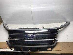 2010 2011 2012 Ford Fusion Grill Grille With Emblem Good Factory Oem 10 12