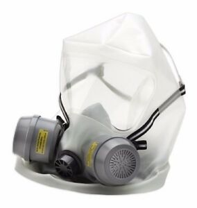 North Er1000 Escape Respirator Emergency Protection Full Hood Style Gas Mask Nos