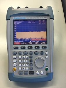 R s Fsh3 23 100khz To 3ghz With Tracking Generator