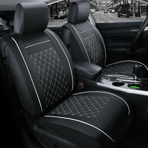 Us For Toyota Camry Prius Corolla Rav4 Car Leather Seat Cover Cushion Front Rear