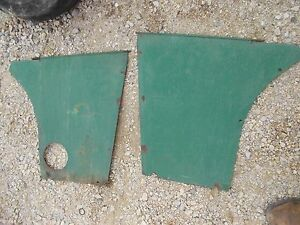 Oliver 60 Tractor Original Rear Side Hood Cover Shield Panel Panels