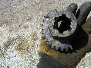 Oliver 66 Rowcrop Tractor Front Steering Sector Gear