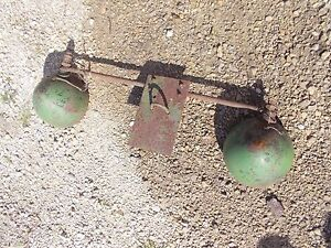 Jd John Deere Oliver Tractor Combine Huber Big Lights Mounting Post Bracket