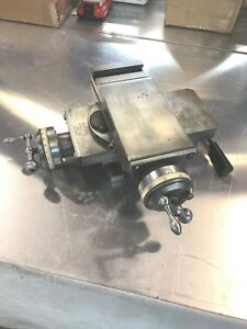 Compound Cross Slide For Hardinge Dv59 Or Speed Lathe Excellent Condition