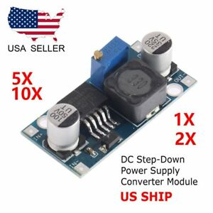 Lot Dc dc Lm2596 1 3v 35v Converter Buck Step Down Power Module Adjustable Ek