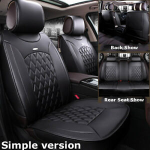 Us Car Microfiber Leather Seat Covers Cushion For Nissan Altima Sentra Rogue