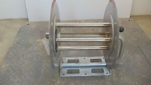Stainless Steel Ar151 Pressure Washer Hose Reel New