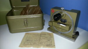 Optical Quantrant Ko 60 Vintage 1977 Ussr High Accuracy 30