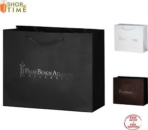 Custom Matte Laminated Euro Tote Bag 9 X 7 X 3 5 Foil Stamp With Your Logo