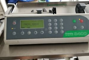 Graseby 3400 Syringe Infusion Iv Pump Driver W Pole Clamp