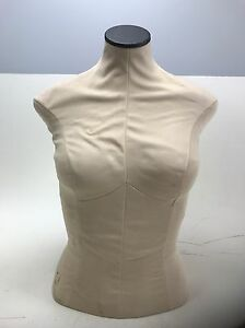 Fusion Specialties Mannequin Dress Form Female Torso Upper Body Bust Fast Wow