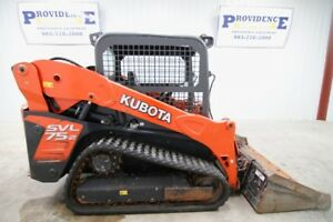 2014 Kubota Svl 75 2 2 speed Skid Steer Track Loader