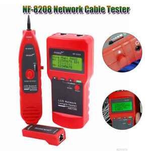 Professional Noyafa Nf 8208 Lcd Display Network Lan Cable Tester Tracker Tracer