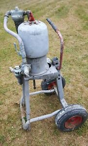 Graco Bulldog Airless Paint Sprayer Pump Motor And Stand Used Working