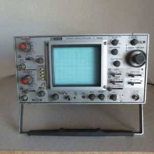 Bk Precision 1540 40mhz Oscilloscope Untested But Powers On