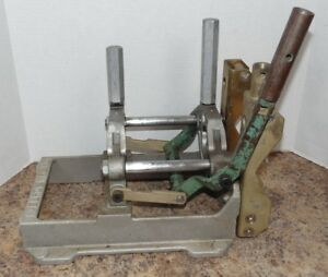Mcelroy 200101 2 Plastic Pipe Fusion Poly Welder Machine Base Clamp Assembly